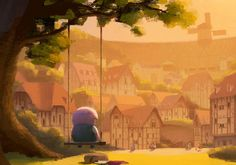 """water dam keeper's animated short 