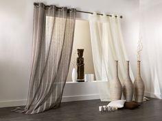 Voilages des fen tres sur pinterest rideaux voilages et for Decoration interieur fenetre rideau