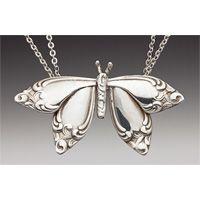 Spoon Jewelry - Spoon Butterfly Necklace