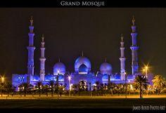 المسجد الكبير - الشيخ زايد Grand Mosque – a.k.a. Sheikh Zayed Mosque