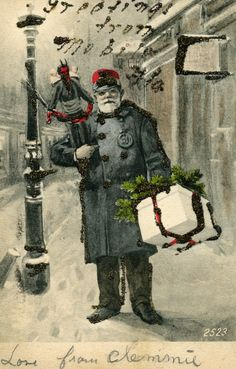 where krampus | Jaffe Center for Book Arts: Merry Christmas & Beware the Krampus!!!