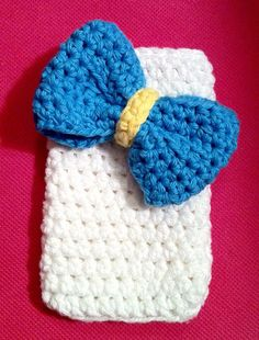 Big Bow iPhone case by CraftsByMands on Etsy, $8.00