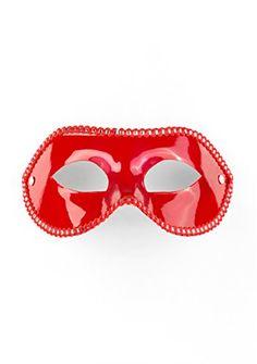 Ouch! Maske für die Partei - rot - Bondage - Fetish