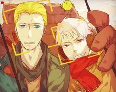 Germany and Prussia - Hetalia