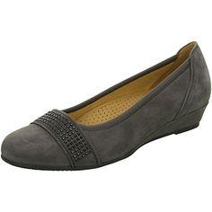 Gabor darkgrey Samtchevreau Größe 6.5 winterweiß - http://on-line-kaufen.de/gabor/6-5-gabor-shoes-32-69-damen-geschlossene