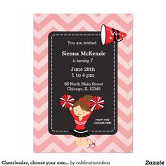 Sold #Cheerleader, #sport #girl Available in different products. Check more at www.zazzle.com/celebrationideas