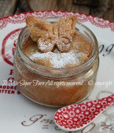 Torta di mele nei vasetti di vetro ricetta il mio saper fare