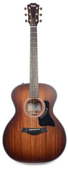 Taylor 324ce SEB Edgeburst Grand Auditorium Acoustic-Electric Guitar