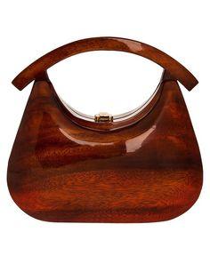 wooden purse!