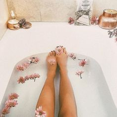 Take a relaxing bath☮ No Time For Me, Just For You, Spa Day At Home, Lush Bath, Tin Candles, Relaxing Bath, Bath Time, Bath And Body, Urban Outfitters