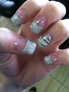 162 Best Prom Nails Images On Pinterest Nail Polish Acrylic Nail