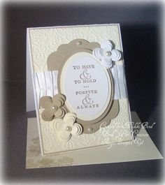 White & Ivory wedding by scrapaholicbond26 - Cards and Paper Crafts at Splitcoaststampers