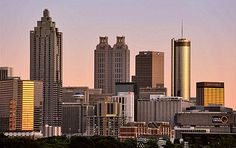 Atlanta, where most of the story takes place. Just imagine everything broken.