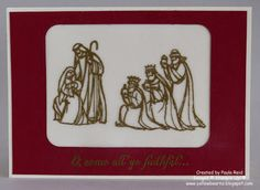 Yellowbear Stampin: ESAD Blog Hop - All Ye Faithful