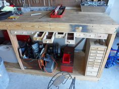 Small Parts Drawers for Workbench - by missingdigitworkshop @ LumberJocks.com ~ woodworking community