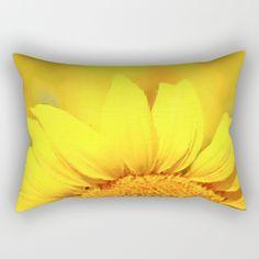 Sunflower love  Rectangular Pillow