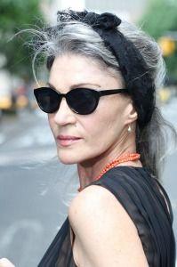 cool grey hair