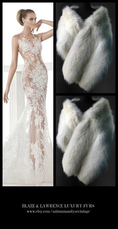 Stay luxuriously warm……..GET THIS LOOK: Atelier Pronovias Wedding Dress 2015 Gown + Blaze & Lawrence Luxury Fur Stole……...https://www.etsy.com/shop/AutumnandYosVintage?ref=hdr_shop_menu….#luxury #luxurylife #luxe #fashion #style #trend #gown #robe #vestito #boda #statement #wedding #prom #redcarpet #blacktie #party #gatsby #20s #formal #event #inspiration #LuxuryGowns + #LuxuryFurs = #PerfectCombination…….