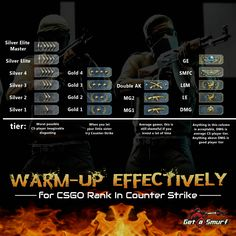 Get the best CSGO Rank while playing the Counter Strike Global Offensive game. Practice is the key to get the desired rank in CSGO and play matches to attain higher ranks in CSGO and boast it. Become a member today!