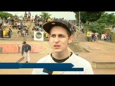 Skate reúne tribos e diverte público na orla morena