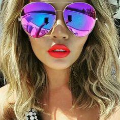 6f0d2c764ba85 Imagens De Óculos, Óculos De Sol Feminino, Óculos Feminino, Fotos Com Oculos,  Oculos De Sol, Acessórios Femininos, Moda Beleza, Maquiagem, Roupas