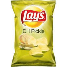 Lay's Dill Pickle potato chips.. I'm kinda freaking out right now.