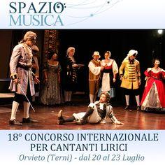 Associazione Spazio Musica - 18° Concorso Internazionale per Cantanti Lirici