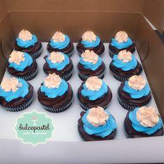 Baby Shower cupcakes, Baby Shower Boy Cupcakes  #chococupcakes #tortasmedellin #cupcakesdechocolate #tortaspersonalizadas #tortastematicas #cupcakes #cupacakesmedellin # # #tortasdecoradas #cupcakes #tortasfrias #tortasfondant #tortasartisticas #tortasporencargo #reposteria #medellin #envigado #colombia #antioquia #tortasenvigado #tortasdeboda #weddingcake #matrimonio #babyshower #babyboy  www.dulcepastel.com
