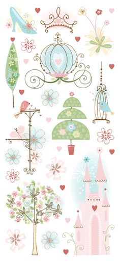 beautiful stickers for scrapbooking | ... princess these beautiful journaling stickers are perfect for scrapbook