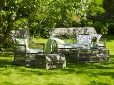 Eco friendly garden wicker furniture by Sika Design - Dreamweave - Singapore
