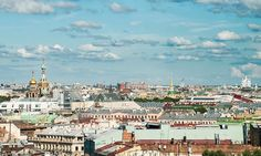Out on the tiles: a rooftop tour of St Petersburg | Travel | The ...