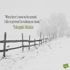 25 Beautiful Quotes about Winter and Snow | Birthday Wishes Expert