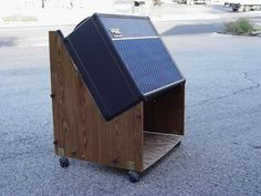 A nice, sound-enhancing storage solution - and something I can actually build myself.
