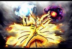 Naruto chapter 696 - Kurama's Ashura Mode by Kortrex.deviantart.com on @DeviantArt