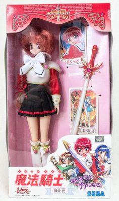 Magic Knight Rayearth Hikaru Shido Doll Figure Clamp SEGA JAPAN ANIME
