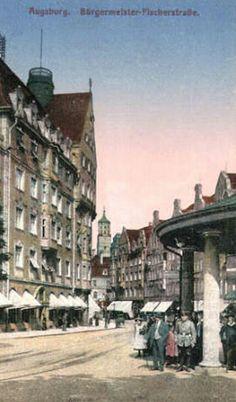 Königsplatz Augsburg Germany, Street View, City, Tik Tok, Travel, Bavaria, Viajes, History, Cities