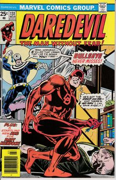Daredevil 131  March 1976 Issue  Marvel Comics  by ViewObscura