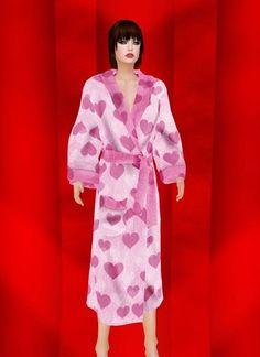Bathrobe Pink Stef