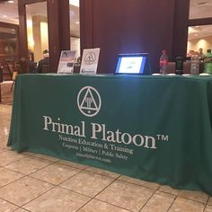 "Thank you for the shout out from primalplatoon.com as they ordered a #tablecover from us: ""Totally Promotional, thank you for the awesome table throw. We're very impressed!"""