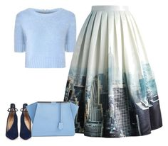 """""""Untitled #6207"""" by tailichuns ❤ liked on Polyvore featuring Glamorous, Chicwish, Christian Louboutin and Fendi"""