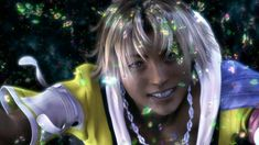 FFX, Tidus' smile makes my heart melt down ^_^ Final Fantasy Characters, Final Fantasy X, Manga Anime, Tidus And Yuna, Signo Libra, Playstation Games, Kingdom Hearts, Videogames, Puzzle