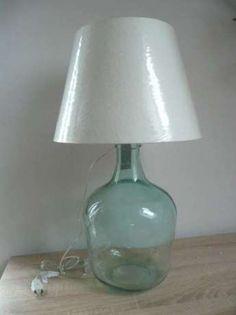 komplet lamp 2x lampa stołowa szklana butelka butla wina marine Lubawa - image 2 Table Lamp, Retro, Home Decor, Projects, Table Lamps, Decoration Home, Room Decor, Retro Illustration, Home Interior Design