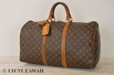 Louis Vuitton Monogram Keepall 50 Travel Bag M41426