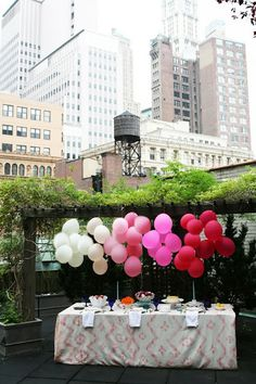 """These balloons would be perfect for baby shower theme """"Ready to Pop!"""""""