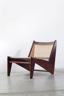 "Arch / Pierre Jeanneret   ""Kangourou"" lounge chair (ca. 1960)   Art.sy — Designspiration"