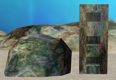 Coral recolor of rocks and BuggyBooze's niches.