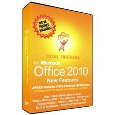 Total Training for Microsoft Office 2010: New & Shared Features (TMSO 2010) - by Total Trainig, Inc.. $101.61. General Information Manufacturer/Supplier: Total Training, Inc Manufacturer Part Number: TMSO 2010 Brand Name: Total Training Product Name: for Microsoft Office 2010: New & Shared Features Marketing Information: Microsoft Office holds a solid 80% of the productivity software market. That means virtually everyone at one point or another comes into contact with Microso...