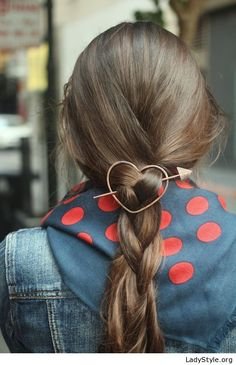 Amazing heart hair pin - LadyStyle