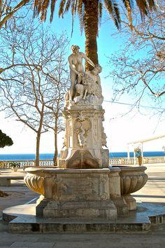 Pan and Nymph Fountain (1900), Dubrovnik, Croatia