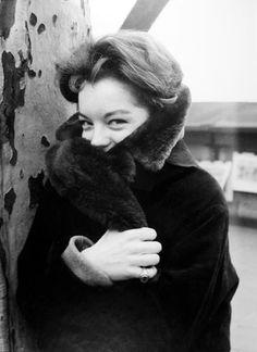 Romy Schneider, Paris 1961 by Herbet List